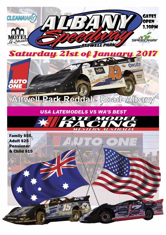 LATE MODEL USA INVASION TOUR THIS SATURDAY NIGHT!!