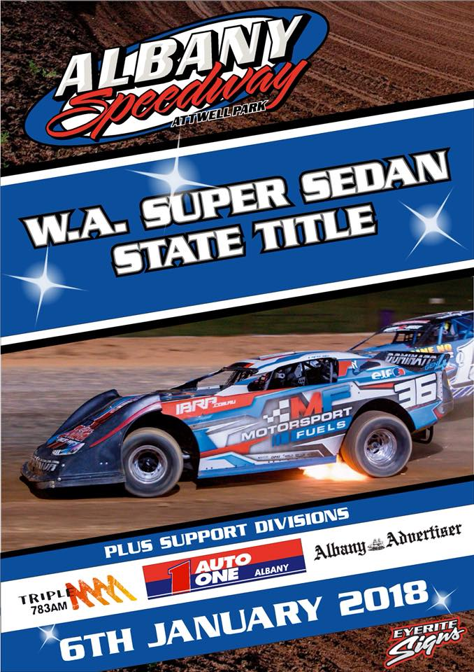 WA Super Sedan Title headed to Albany!